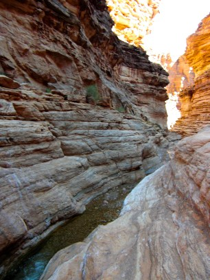 The little spring that lead to the Colorado River