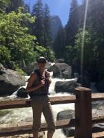 Me headed towards Vernal Falls