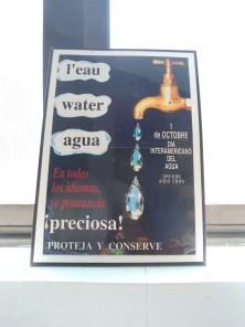 En todo momento y lugar, ¡cuidemos el agua!