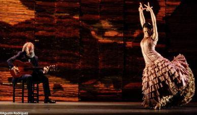 La bailaora Ana Morales en 'Sin permiso. Canciones para el silencio' .