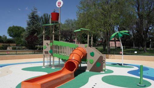 piscina de verano del Polideportivo Dehesa Boyal.