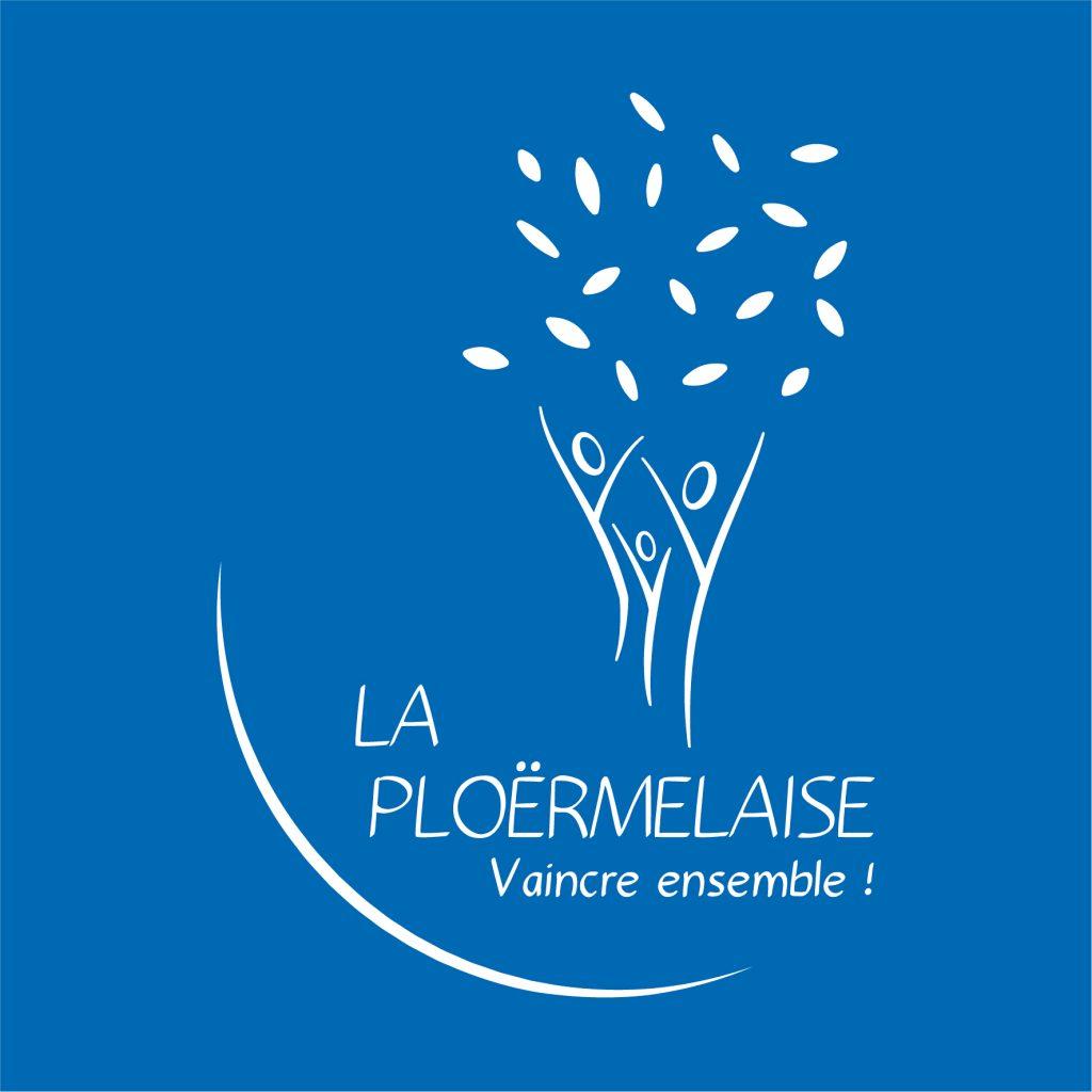 Logo La Ploërmelaise Blanc