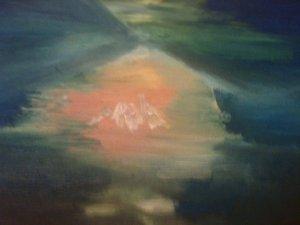 Nativité, huile sur toile, 25x30 cm, GLSG, Mai 2011