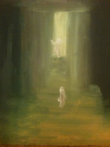 Le Fils Prodigue, huile sur toile, 25x30 cm, GLSG, Mai 2011