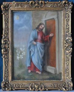 Thérèse de Lisieux (1873-1897) Jésus frappe à la porte, 1892, Archives du Carmel de Lisieux