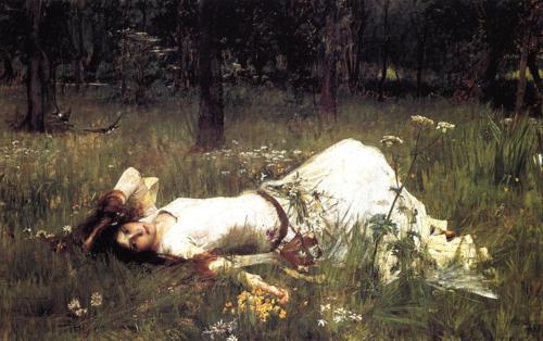 John William Waterhouse, Ophélie