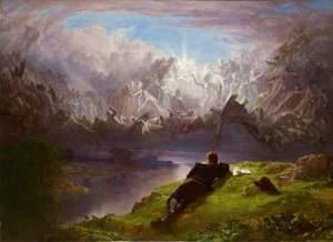 Le rêve du poète, John, Faed, 1901