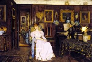 Dulce Domum, John Atkinson Grimshaw, 1885 ©collection particulière