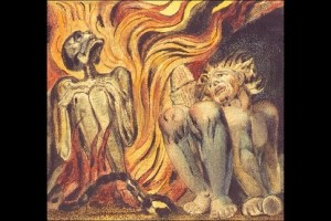 William Blake, Book of Urizen, planche 12