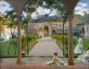 John Singer Sargent, At Torre Galli: Ladies in a Garden, 1910, Royal Academy of Art