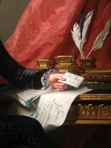 E. Vigée Lebrun, Charles-Alexandre de Calonne, 1784, huile sur toile, 149x128 cm, Windsor Castle, The Royal Collection, Her Majesty Queen Elizabeth II