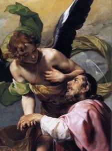 Alonso Cano (1601-1667) Vision de Saint Jean l'Évangéliste (détail) 1636-37, huile sur toile©Wallace Collection, Londres