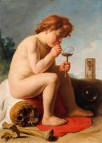 Jan Lievens (1607-1674) Enfant faisant des bulles de savon, 2e quart XVIIe siècle, huile sur toile ©musée des beaux-arts et d'archéologie, Besançon