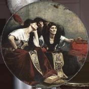 8. Alfred Pierre Agache (1843-1915) Les Trois Parques, 4e quart du XIXe siècle, huile sur toile ©musée des Beaux-Arts, Lille