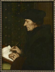 Hans HOLBEIN dit le Jeune (Augsbourg, 1497 - Londres, 1543) Erasme