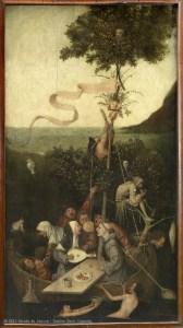Jérôme van Aken, dit Bosch (vers 1450 - 1516) La Nef des fous, musée du Louvre