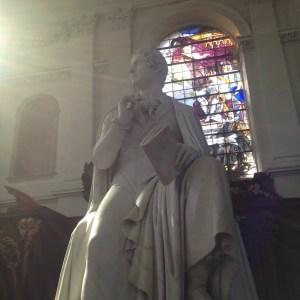 Lord Byron dans l'éclat de la Wren Library