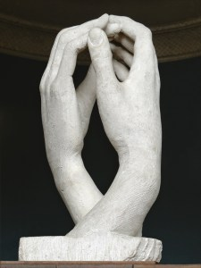 Auguste Rodin (1840-1917) The Cathedral, 1908, Rodin Museum, Paris, stone