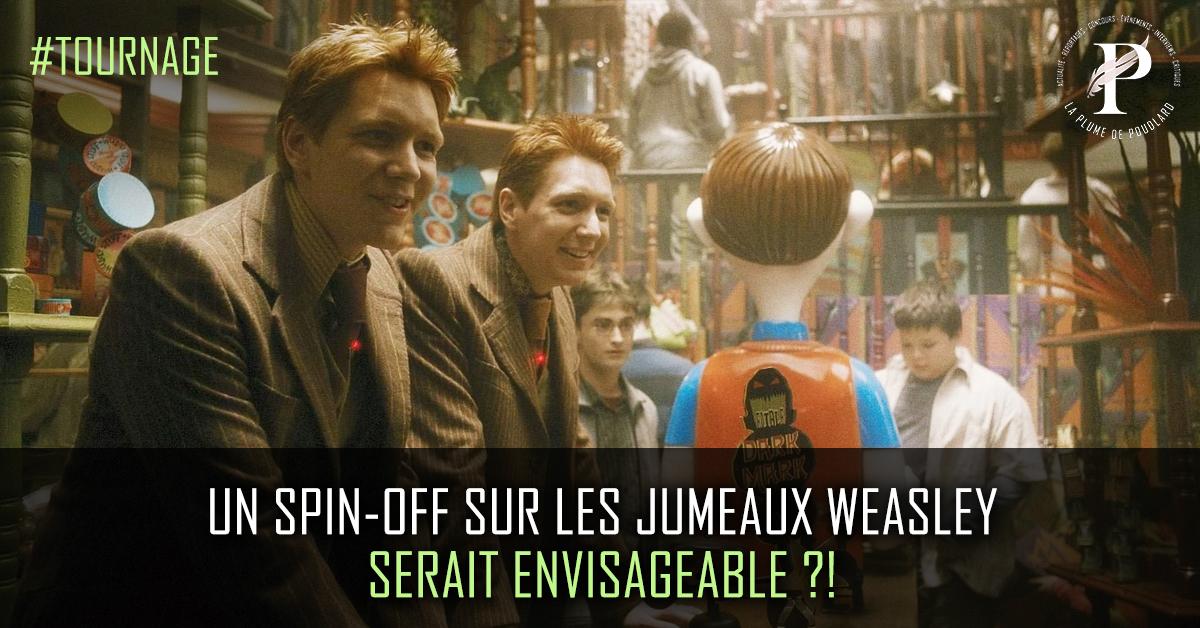Un spin-off sur les jumeaux Weasley serait envisageable ?!