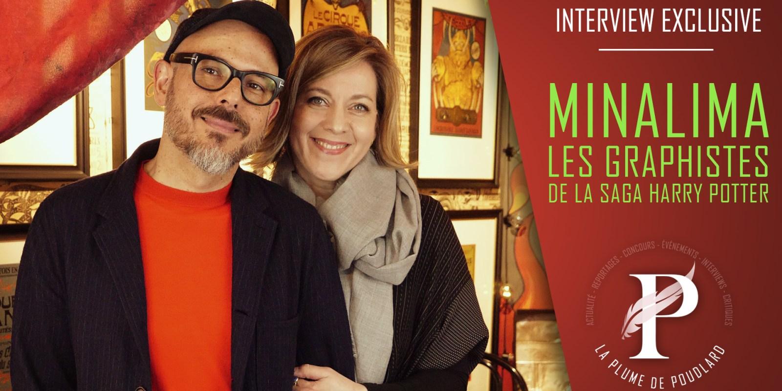 Interview exclusive : MinaLima. (SOUS TITRES FR DISPONIBLES)