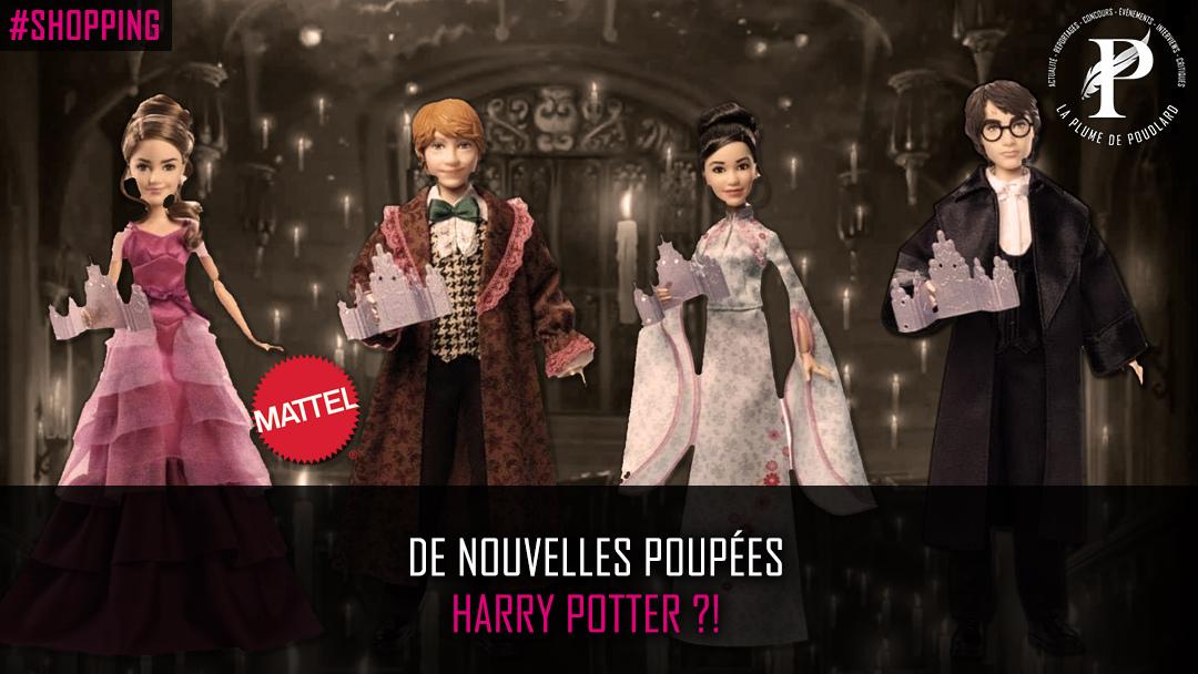 De nouvelles poupées Harry Potter ?!