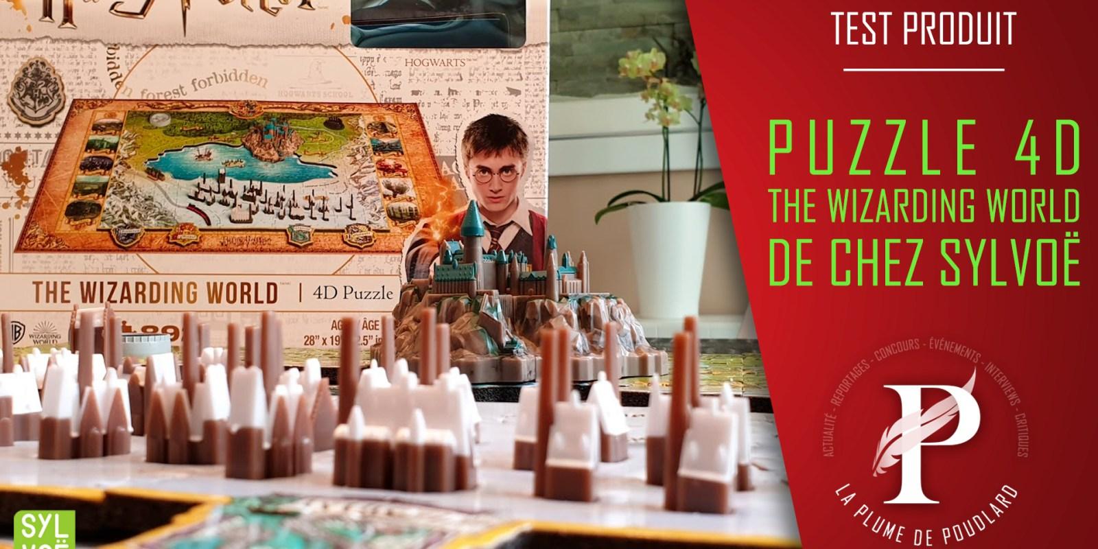Test produit : Le puzzle 4D The Wizarding World Harry Potter