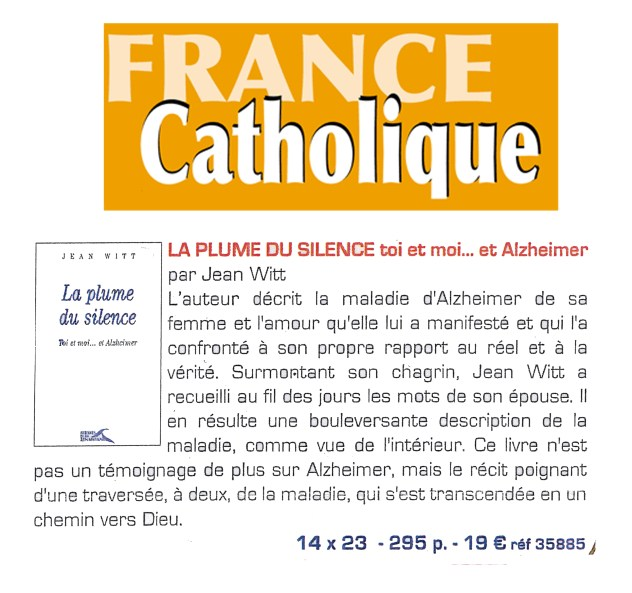 19 article france catholique