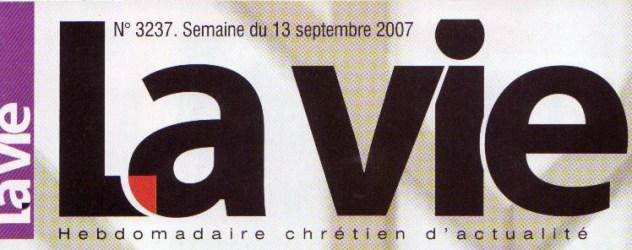3 logo la vie couverture