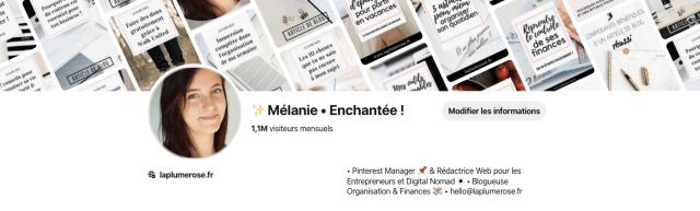 Profil Pinterest