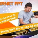 Lắp mạng cáp quang FPT dành cho hộ gia đình