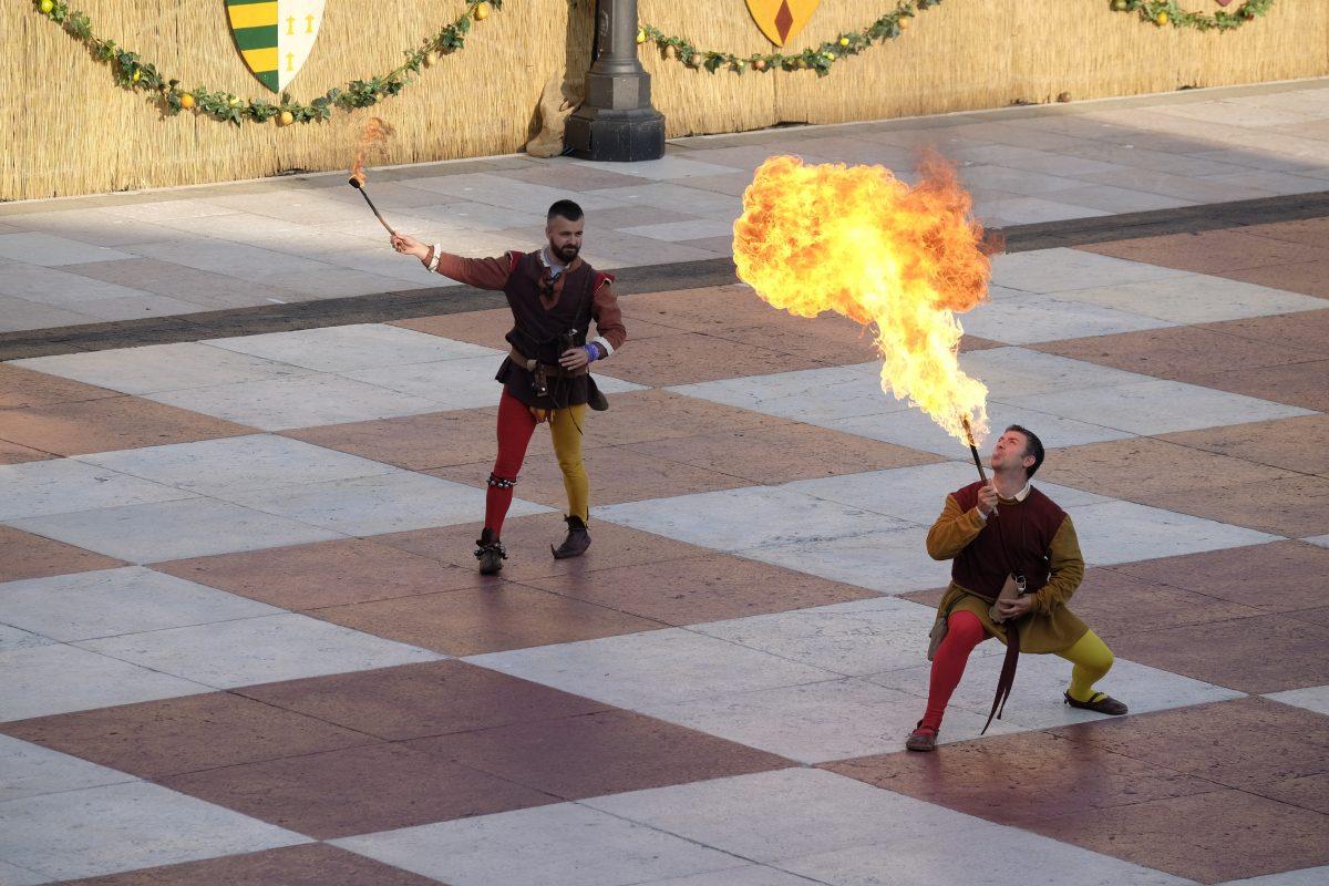 Espectáculo Marostica