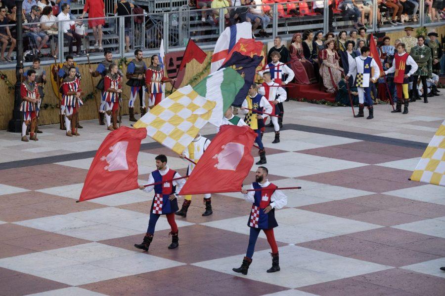 Banderas Marostica