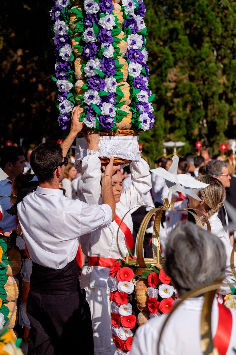 Festa dos tabuleiros, Portugal