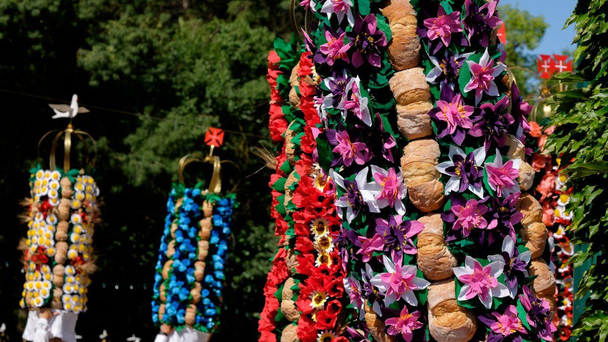 Festa dos Tabuleiros. Tomar, Portugal.