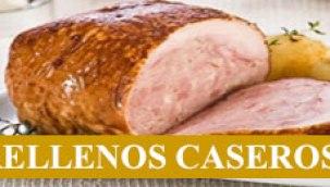 Pollería a domicilio en Madrid, selección gourmet, pollos, pavos , Rellenos Caseros