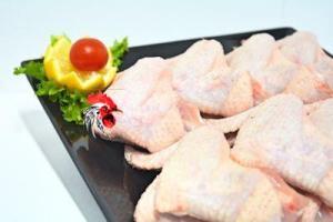 Despiece de pollo, alitas, contramuslos, filetes pechuga de pollo