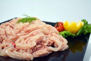 Carne Picada de Pollo, Polleria Selecta