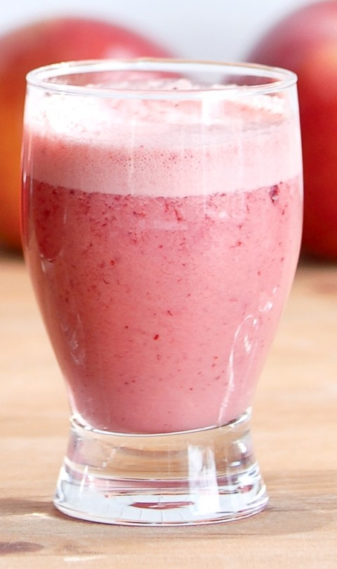 smoothie pommes canneberges erable