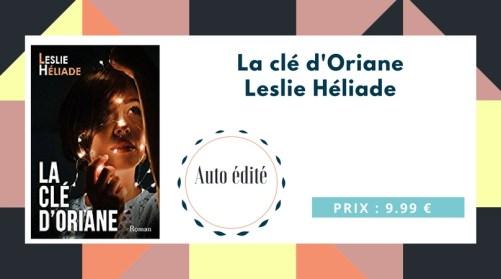 La clé d'Oriane de Leslie Héliade