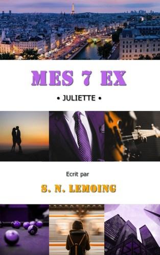 Livres: Mes 7 ex: Juliette de S.N Lemoing