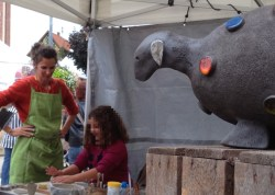 Travaux pratiques poterie - les enfants adorent