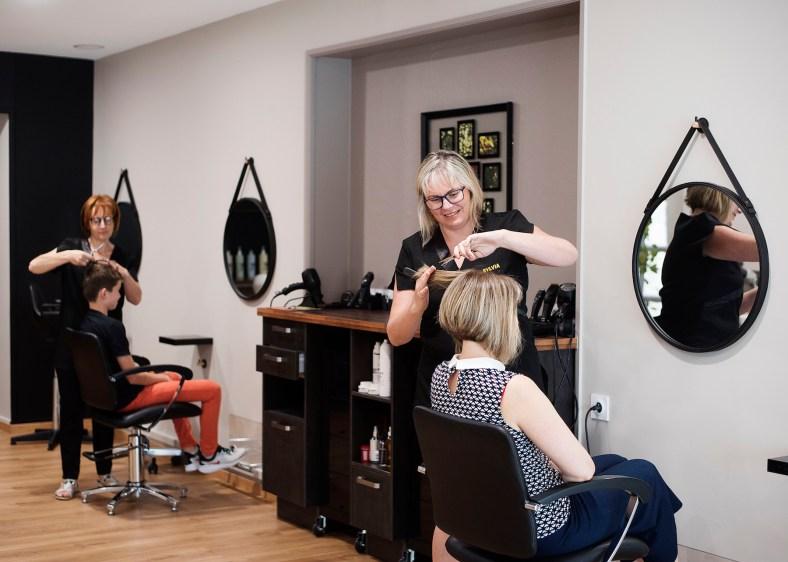 Salon de coiffure - Ambiance douce