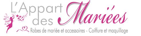 l'Appart des mariées, Coiffure et robe de mariée, Morbihan, ille et vilaine et Loire Atlantique