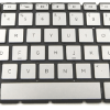 LAPTOP KEYBOARD FOR HP ENVY 13 D COLOUR WITHOUT FRAME WITH BACKLIT US VERSION SILVER