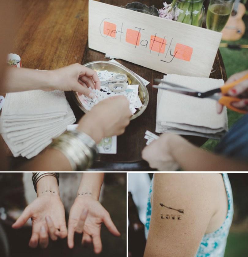 Tatouage mariage