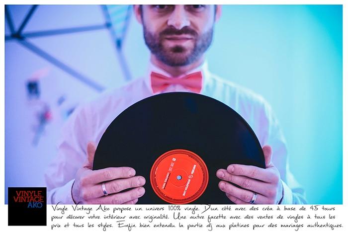 3-Vinyle Vintage Ako