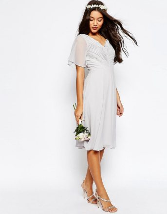 robe demoiselle d'honneur asos