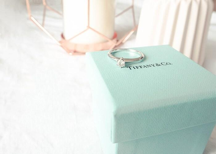 bague de fiançailles l'apprentie mariée tiffany&co