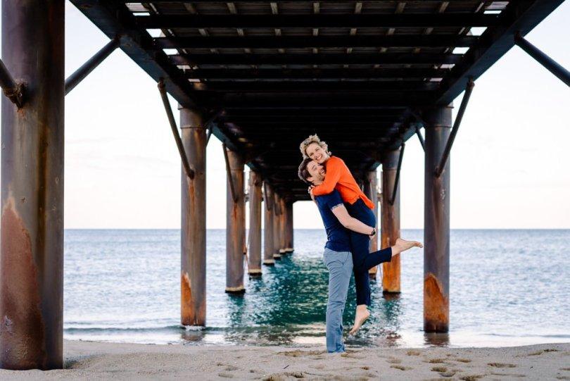 Love Session en bord de Mer, Love Session en bord de Mer V&M