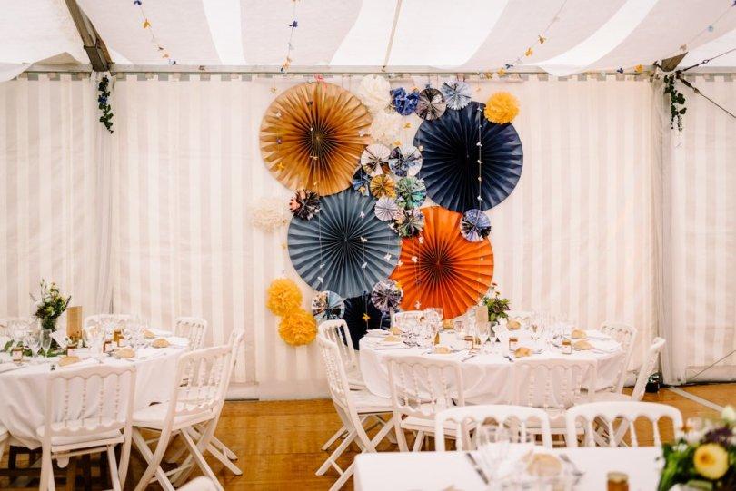 Mariage Orange pastel et Bleu gris, Mariage Orange pastel et Bleu gris V&M